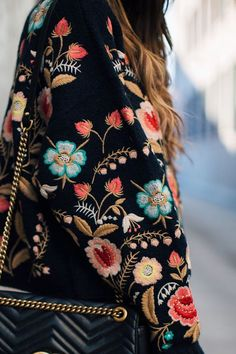 The Embroidery bohemian trend is everywhere right now!