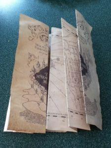 DIY Harry Potter Marauders Map
