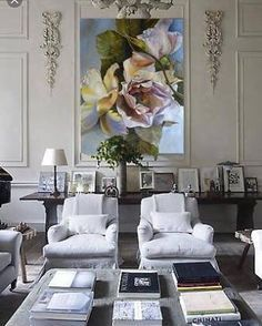 @botanicaetcetera Diana Watson No.3. A painting by Australian artist Diana Watson in a white room. Follow her @dianawatson70 #dianawatson #artist #painting #architecture #art #design #decor #interiordesign #interior #home #interiordecor #lifestyle #living #gallery #white #elegant #style #stylish #monochrome #romantic #subtle #chic #calm #relaxing #flora #floral