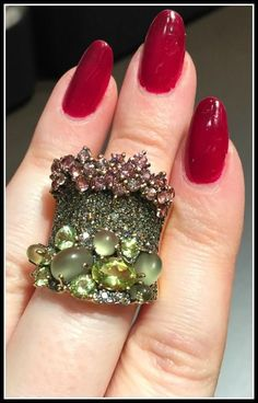 A fabulous Brumani gemstone ring from the Baobab collection.
