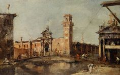 Francesco Guardi - The Entrance to the Arsenal in Venice - Google Art Project.jpg