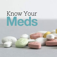 Know your type 2 diabetes medications
