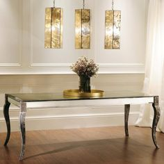 Gojee - Driftwood Mirror Dining Table by Layla Grayce Furniture
