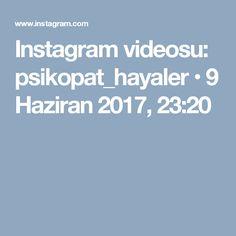 Instagram videosu: psikopat_hayaler • 9 Haziran 2017, 23:20