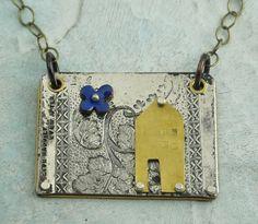 Happy House Necklace  by Kathryn Riechert by KathrynRiechert, $68.00