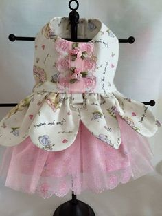 Belle Of the Ball Princess Fairy Dog Dress SMALL by princessamee, $75.00