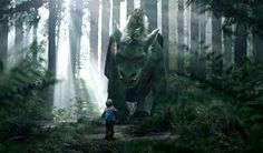 See Pete's Dragon Elliot up close in new clips | The Disney Blog