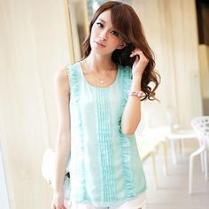 Buy 'Tokyo Fashion – Ruffled Sleeveless Top' with Free International Shipping at YesStyle.com. Browse and shop for thousands of Asian fashion items from Taiwan and more!