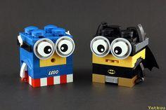 MOC – LEGO Minions, Created by Yatkuu. (http://MiniPlayHouse.com)
