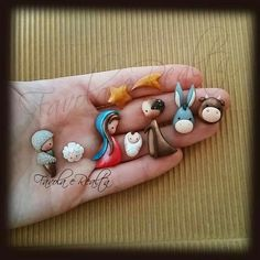 me ~ Craft Clay Cold Porcelain Ideas Polymer Clay Ornaments, Polymer Clay Figures, Fimo Clay, Polymer Clay Projects, Polymer Clay Charms, Polymer Clay Creations, Polymer Clay Art, Polymer Clay Jewelry, Ceramic Jewelry
