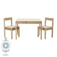 IKEA Lätt Kindertisch mit 2 Stühlen Kinder Stuhl Tisch Set Kindermöbel NEU | eBay