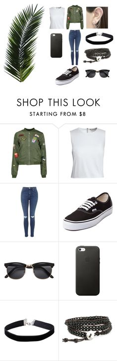 """wattpad"" by kennajayce on Polyvore featuring Canvas by Lands' End, Topshop, Vans, Miss Selfridge and Otis Jaxon"