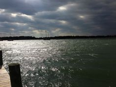 A windy day in Beaufort, North Carolina.  (Photo by Betsy Cartier)