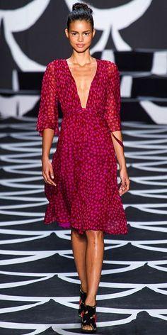 Runway Looks We Love: Diane von Furstenberg - Diane von Furstenberg from #InStyle