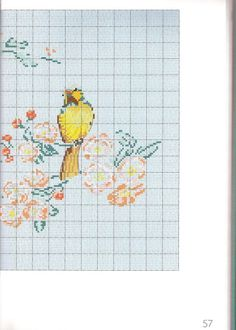 Gallery.ru / Фото #50 - Helene Le Berre - Les oiseaux a broder - velvetstreak