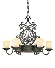 Wadwick 6 Light Old World/Gothic Chandelier | Candle chandeliers ...:Six Light Chandelier · Unlimited EncinitasBulbs ...,Lighting