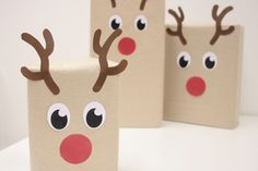 wrap gifts to look like santa | Last year we showed you some creative ways to rock your Christmas gift ...