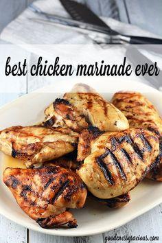 Best Chicken Marinade - Our favorite way to grill up chicken!
