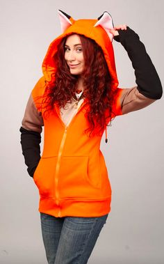 I WANT!!!!! Fox Beast Hoodie, $92.00. | 31 Foxy Additions To Your Spring Wadrobe
