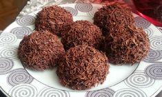 2 Malzemeli Çikolatalı Kadayıf Topları