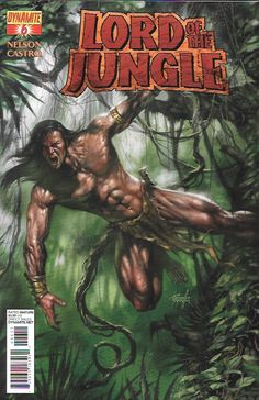 The Height of Civilization Part 6 __Written by Arvid Nelson, Art by Roberto Castro , Cover by Lucio Parrillo , The Story _Cannibalistic man-apes... pirates... gigantic crocodiles... horny gorillas...