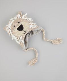 Lion Earmuff Beanie