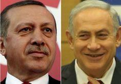 Turkey & Israel set to Finalize Reconciliation Talks. Erdogan and Netanyahu Photo By: REUTERS