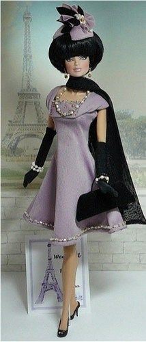 Weekend in Paris-Positively Fabulous Barbie   Donnas doll designs