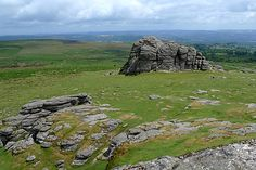 Haytor Rocks, Dartmoor, Devon, England, UK