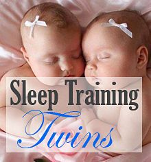 Advice on sleep training twins... going to need this!