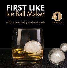 First Like Ice Ball Maker Original & Best Ice Ball Mold 4x4.5 cm Ball Capacity - Black  http://www.amazon.com/First-Like-Maker-Original-Capacity/dp/B00PKFDW9Q/ref=sr_1_103?ie=UTF8&qid=1424204768&sr=8-103&keywords=ice+ball+maker
