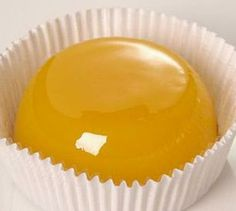 Quindim - egg yolk, sugar and grated coconut