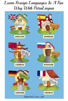 Learn foreign languages in a fun way! |  www.homestead-acres.com