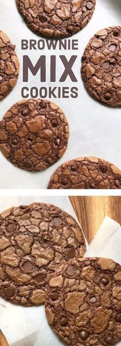 You are going to Thank your lucky stars that you tried these Easy Brownie Mix Chocolate Chocolate Chip Cookies. They are that good.