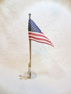 desk flag pole