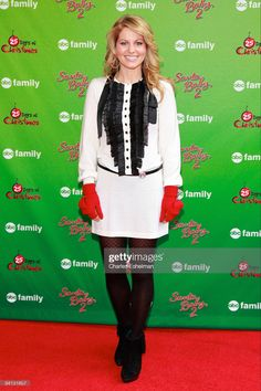 Actress Candace Cameron Bure attends the ABC Family's world record elf party at Bryant Park on December 7, 2009 in New York City. (Photo by Charles Eshelman/FilmMagic) Family World, Abc Family, Candace Cameron Bure, Bryant Park, December 7, World Records, Family Christmas, Elf, City Photo