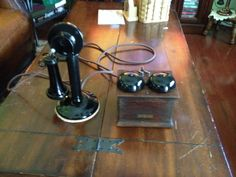 Antique Western Electric Candlestick Telephone