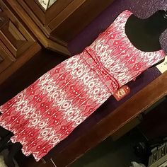 NWT red and white dress This is from Walmart from last summer. It's very soft and cute on! Perfect for spring/summer! Smoke free home. Any questions please ask! Faded Glory Dresses