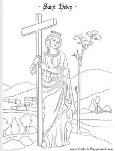 catholic vocations coloring pages - saint catherine of siena coloring page april 29th my