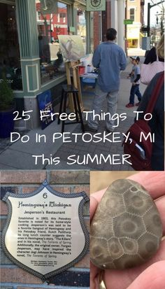 Find the best FREE things to do in Petoskey MI. Everything from Petoskey area attractions and activities. Include 25 reasons to visit Petoskey now! Petoskey Michigan, Lake Michigan, Arcadia Michigan, Michigan Vacations, Michigan Travel, Harbor Springs Michigan, Mackinac Island, All I Ever Wanted, Free Things To Do