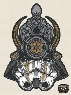 Recent Illustrations 2012 by Joshua M. Smith, via Behance #StarWars #Stormtrooper #Illustration