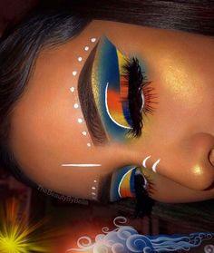 58 Best Halloween Eye Makeup Ideas 2019 - my most beautiful makeup list Makeup Eye Looks, Cute Makeup, Glam Makeup, Skin Makeup, Makeup Inspo, Eyeshadow Makeup, Makeup Ideas, Eyeshadows, Eyeshadow Primer
