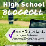 Ann-Notated: Homeschool High School Blogroll
