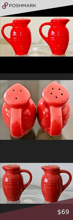 I just added this listing on Poshmark: LE CREUSET POTERIE SALT & PEPPER RED STONEWARE. #shopmycloset #poshmark #fashion #shopping #style #forsale #Le Creuset #Other Dw Home Candles, Pumpkin Spice Candle, Le Creuset Stoneware, Bean Pot, Crystal Decanter, Appetizer Plates, Salt And Pepper Set, Side Plates, Pottery