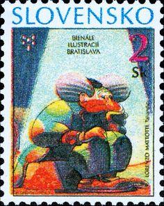 Clown, by Lorenzo Mattotti Lorenzo Mattotti, Postage Stamp Art, Bratislava, Monaco, Europe, Illustrations, Baseball Cards, My Favorite Things, Gallery