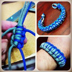 Paracord Millipede bracelet DIY
