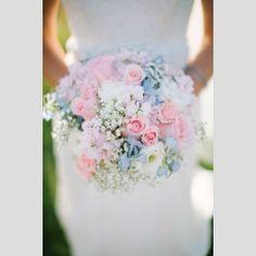 Casamento em tons pastel. #casamento #inspiracao #ideias #pastel #bouquet