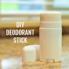 Deodorant that you purchase in the store is usually made with a lot of chemicals and artificial scents. You can make your own DIY deodorant stick very inexpensively without all those chemicals.