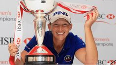 Angela Stanford, Kappa Eta Chapter, is a Professional golfer on the LPGA and has earned five LPGA Tour trophies