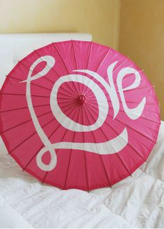 Parasols or Umbrella... you could so DIY this on an umbrella and this would make for a great photo prop!